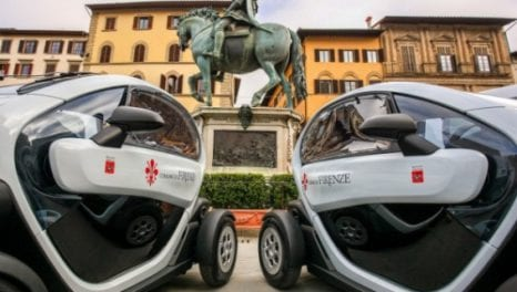 Florence charges ahead with its electric mobility plans