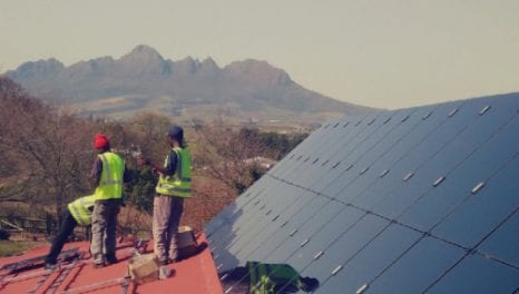 Blockchain crowdfunding for African solar PV installations