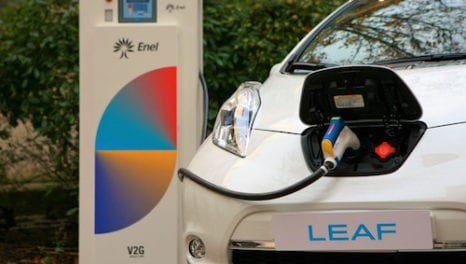 Enel and Italy's first vehicle-to-grid pilot