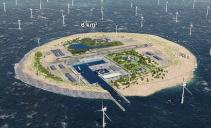 Dogger Island – wind power ambition in the North Sea