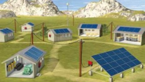 Interaction of microgrids and centralised grids