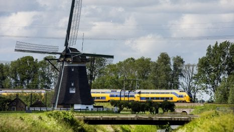 Decarbonising travel: the Dutch trains running on wind power