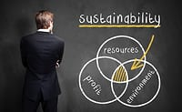75% of businesses find sustainability challenging