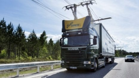 Sweden's eHighway-more efficient than conventional engines