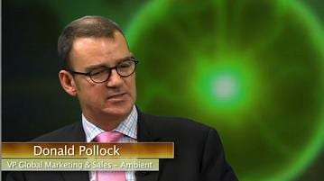 Interview: Donald Pollock, VP Global Marketing and Sales, Ambient