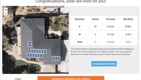 Estimating solar rooftop potential with artificial intelligence