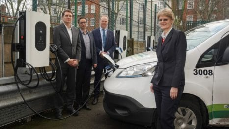 Moixa installs an AI-enabled smart EV charging project in Islington