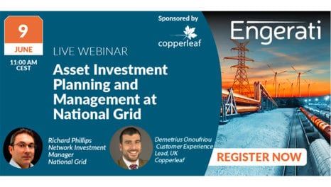 Asset Investment planning and management at National Grid