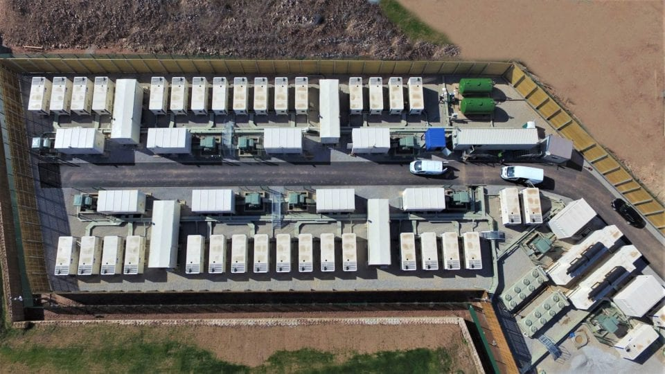UK's largest battery comes online
