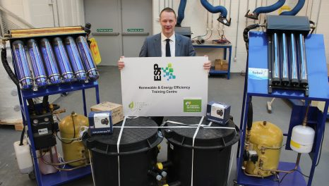 Nine Scottish colleges launch renewable and energy efficiency training centres