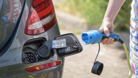 Government announces £2.5m funding for on-street EV charging points