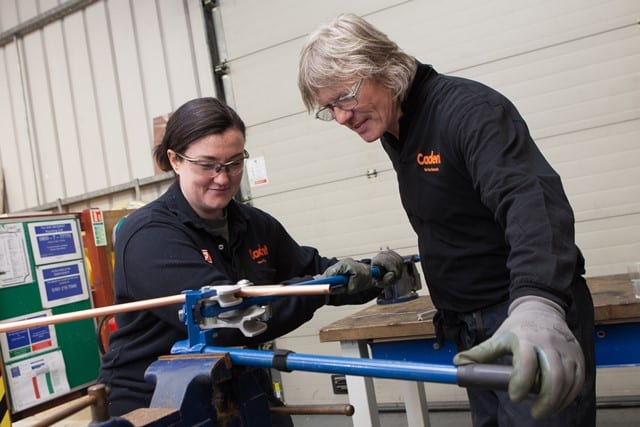 Cadent ranked top UK company for apprentices to work for