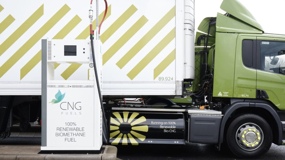 Cadent to pipe bio-gas to HGV refuelling stations