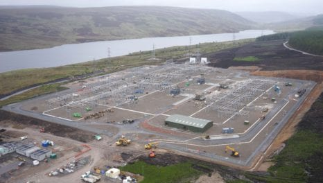 Loch Buidhe substation powers up