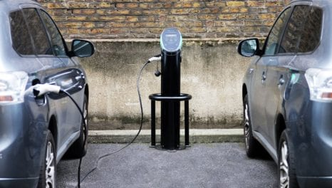Pod Point secures EV charging supply agreement with Kier
