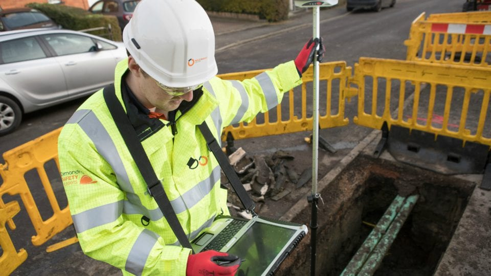 Wales & West using specialist GPS technology