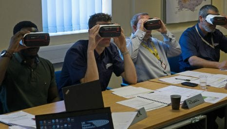 Virtual reality helps power workers train safely