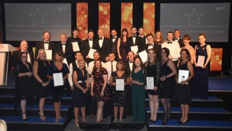 Power industry talent recognised at awards