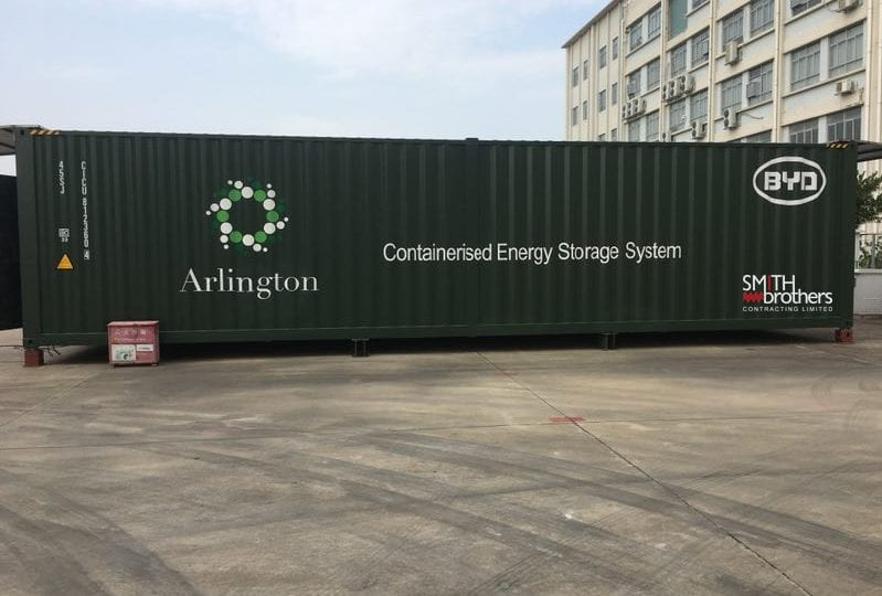 Work on second Arlington Energy battery storage site gets underway