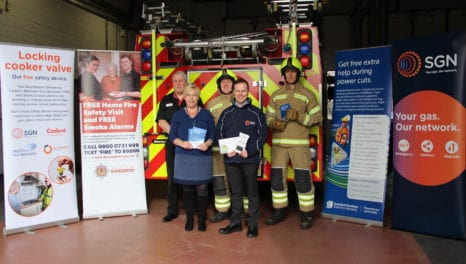 Utilities join forces with the Scottish Fire Service to make homes safer