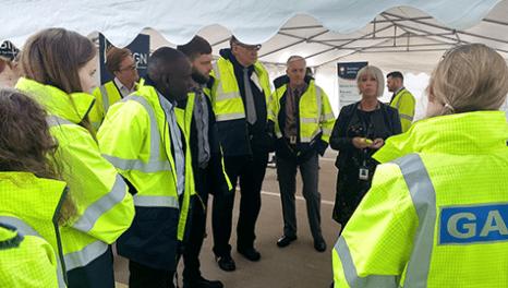 Ofgem visits SGN's Paisley depot