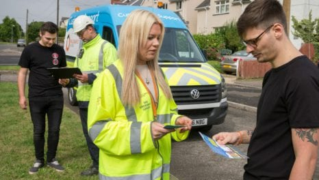 Wales and West Utilities hits the road with customer support vehicle
