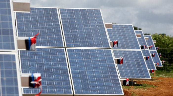Cost of backing up solar is 'negligible'