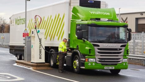 CNG should be 'fuel of choice' for freight vehicles