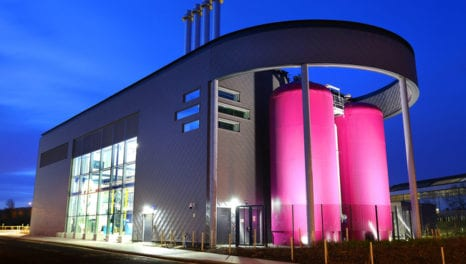 Minister opens £18m district energy facility in Gateshead