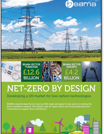 BEAMA members commit to net zero