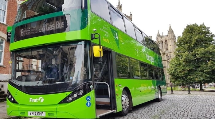 Gas-powered buses are better value, claims trade body
