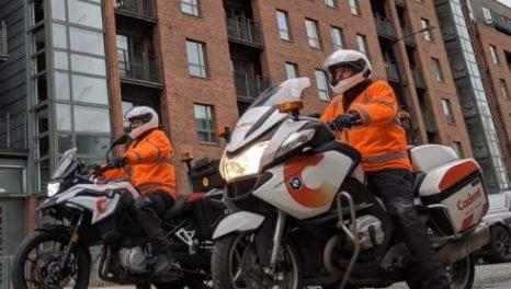 Cadent adds BMW bikes to emergency response fleet