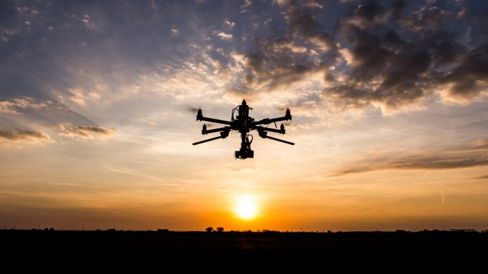 Drone project begins flight trials on energy network assets