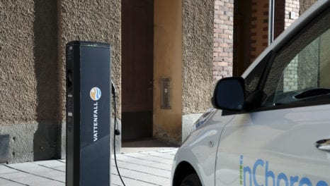 Vattenfall enters EV charging market in Great Britain