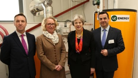 Prime Minister opens UK's first biomass training facility