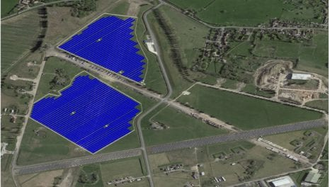 UK's first unsubsidised industrial solar project unveiled