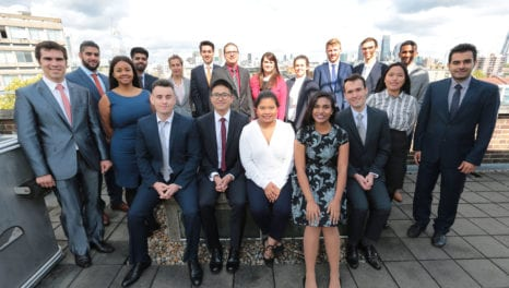 Graduates start work at UK Power Networks