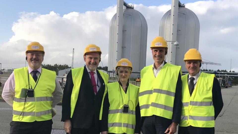 Shadow Ministers take part in Denmark energy study tour