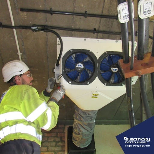 ENW trialling substation cooling to cut costs