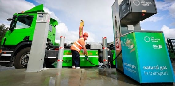 Compressed natural gas station opened in Ireland