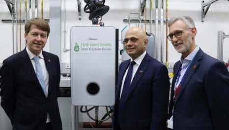 Hydrogen boilers: here today, in your home tomorrow