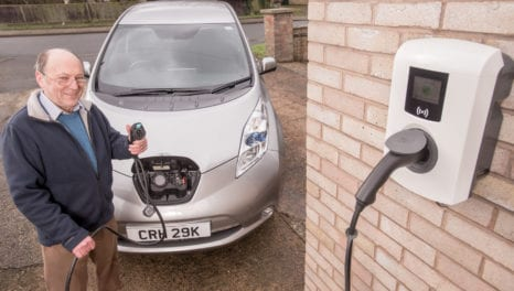 EV trial offers free smart chargers