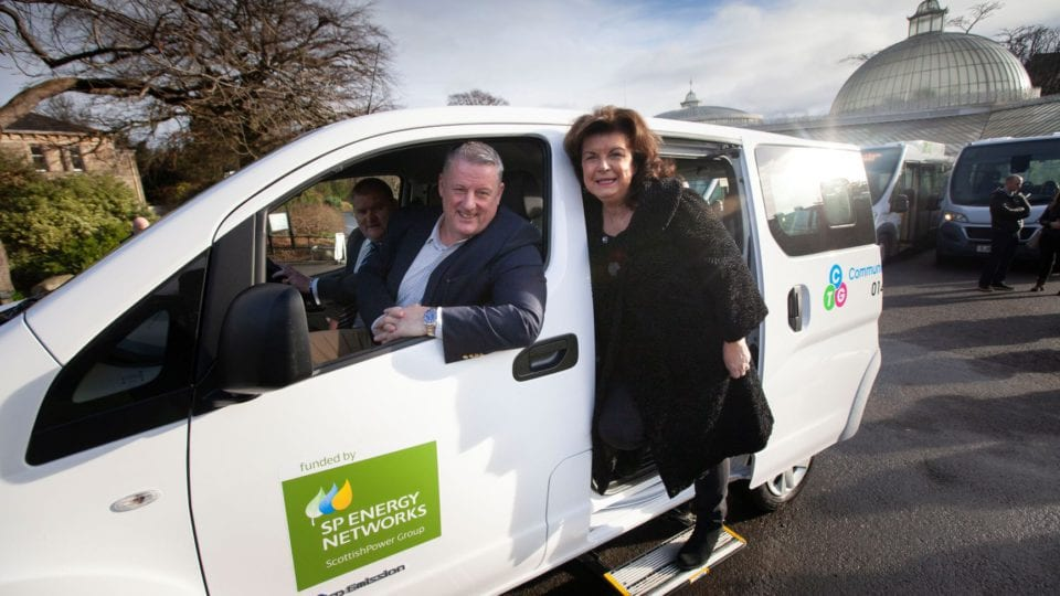SP Energy Networks puts Glasgow charity on low carbon road