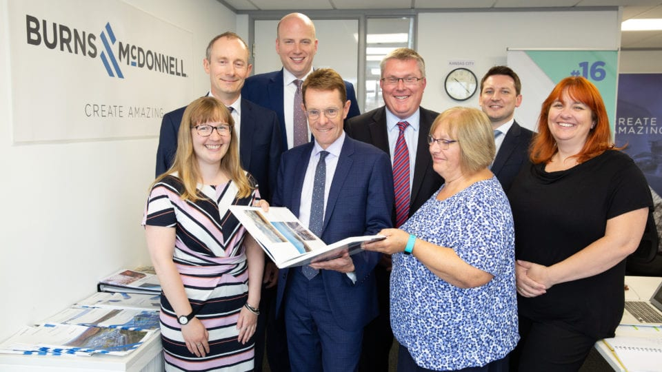 Burns & McDonnell outlines commitment to West Midlands infrastructure