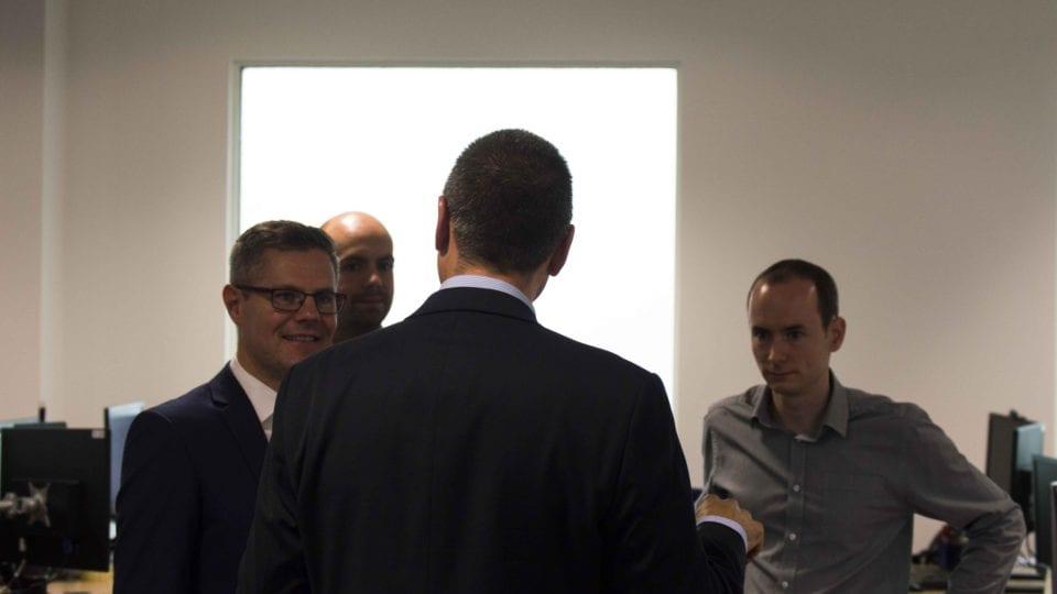 Mackay visits Smarter Grid Solutions