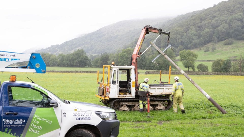Lake District scenery enhanced as power lines removed