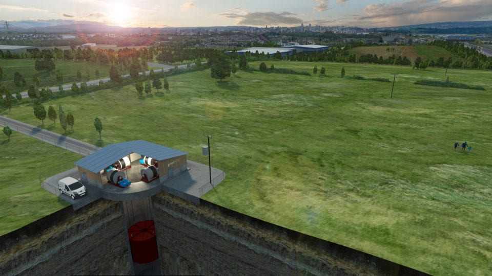 Disused mine shafts could become energy stores