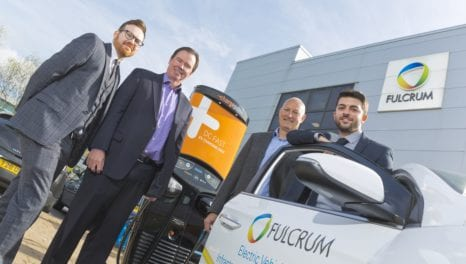 Fulcrum partners with Chargepoint to drive forward UK's EV ambitions