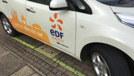 EDF and Nuvve to install V2G chargers in UK