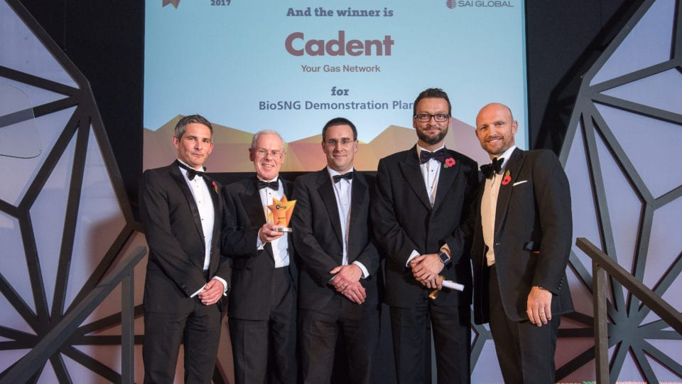 Cadent scoops EI Technology Award